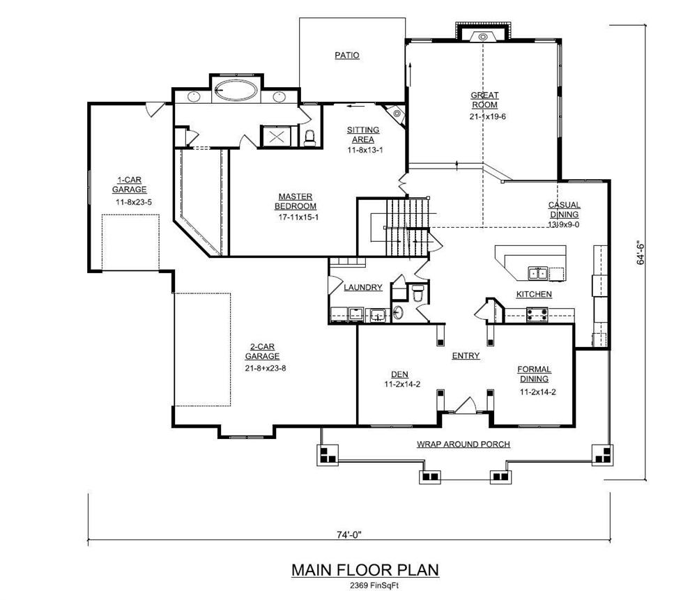 100 Arts And Crafts House Plans Treyburn Ii Floor