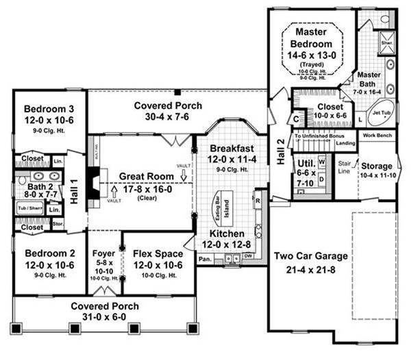 consumers are shopping for smaller one-story online house plans