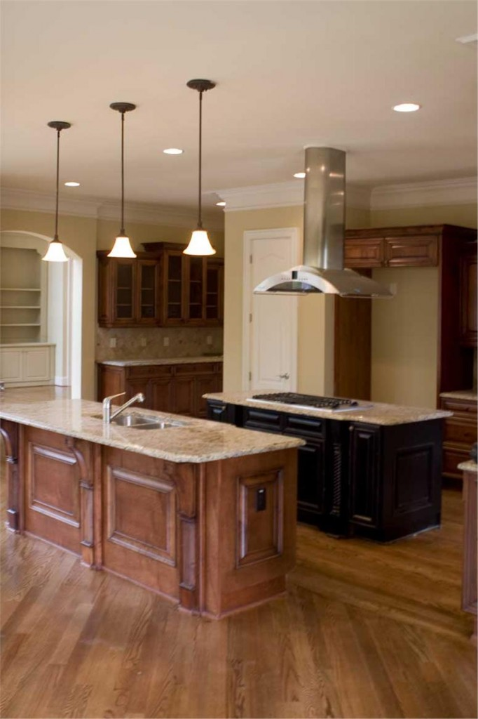 Plan 106-1167 Kitchen with High Ceilings