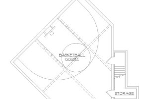 House Plans with Basketball Courts